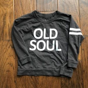 Old soul kids shirt